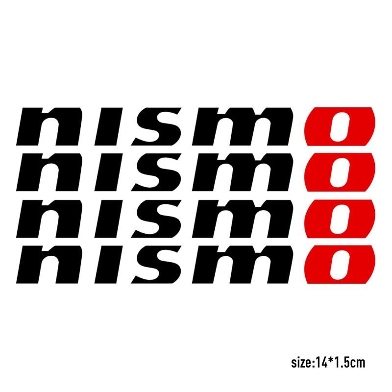 4 шт. NISMO Handdoor автомобильный Стайлинг для NISSAN QASHQAI JUKE X-TRAIL TIIDA ALMERA NOTE PRIMERA MARCH TEANA автомобильные аксессуары