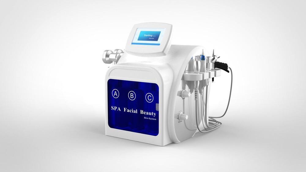 2019 New Arrival facial peel vacuum cleaner machine hydra  machine vacuum roller skin scrubber machine hydrafacial