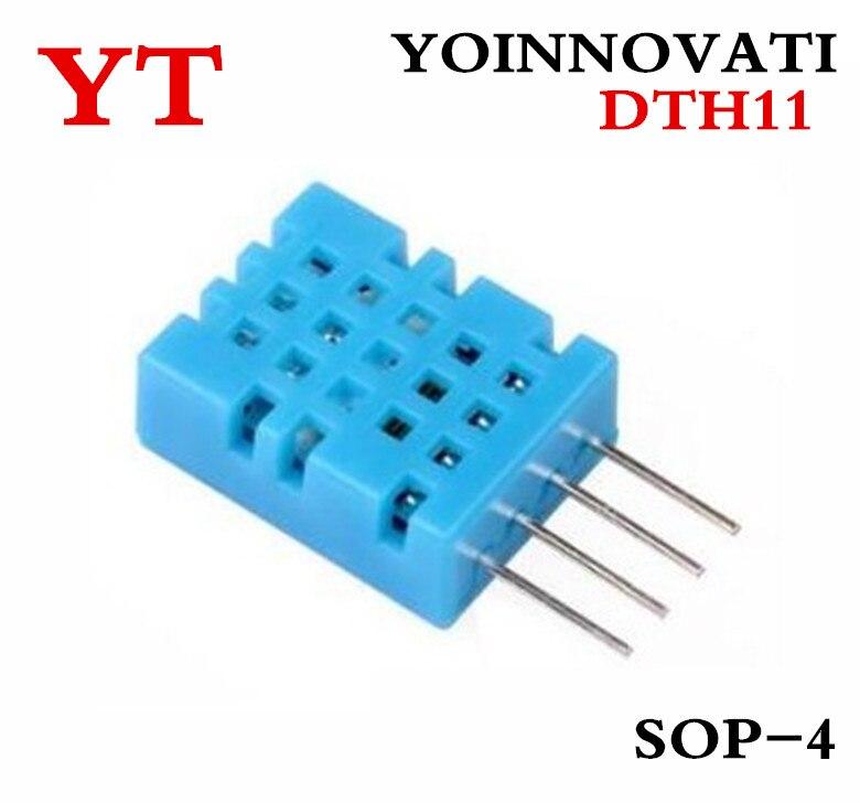50 pçs/lote DTH11, DHT11 de temperatura e umidade sensor de temperatura e umidade módulo