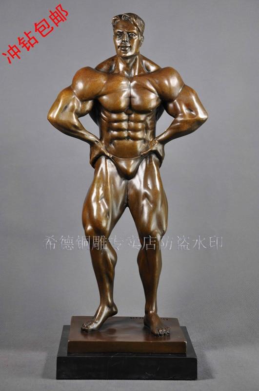 Bronze sculpture, home decoration crafts fashion copper sculpture callisthenics series ds-488