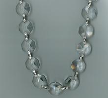 50cm Height Per Chain 20mm Hexagonal Crystals Bead Chain Garland Strands Ornament Xmas Tree Wedding Decoration