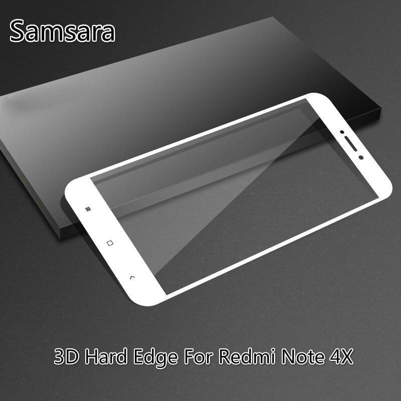 Protector de pantalla de borde duro 3D para Xiaomi, película protectora de...