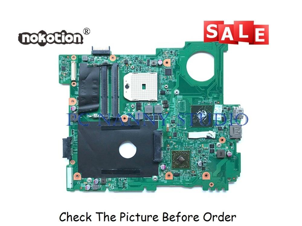PCNANNY FJ2GT 0FJ2GT 48.4IE04. 011 для Dell Inspiron M5110 материнская плата для ноутбука FS1 HD 7400 DDR3 Протестирована