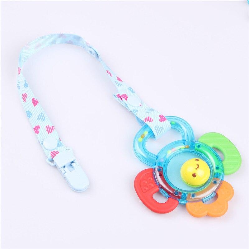 Chupete de bebé Clip cinta cadena Clip para chupete soporte para pezones Chupetas Clips Correa chupete soporte para alimentación infantil