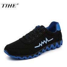 2018 męskie buty wulkanizowane nowa młodzież mężczyźni płótno niskie buty antypoślizgowe oddychające sznurowane gumowe buty Casual Calzado De Hombre