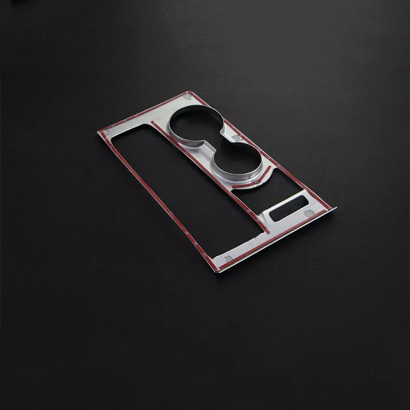 Car Accessories LHD ABS Interior Front Center Gear Shift Panel Water Cup Cover Trim For Hyundai Tucson 2015 Car-styling enlarge