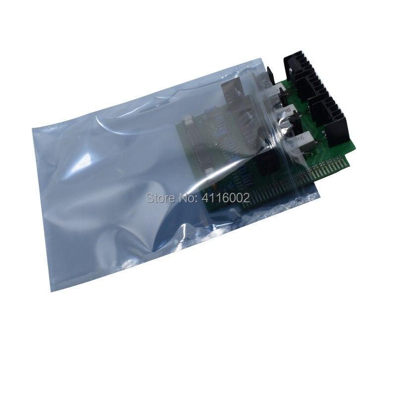 حقيبة تخزين مضادة للكهرباء الساكنة ، عبوة من 1000 قطعة ، 10 × 15 سنتيمتر ، عبوة ESD مضادة للكهرباء الساكنة ، تعبئة ذاتية الختم