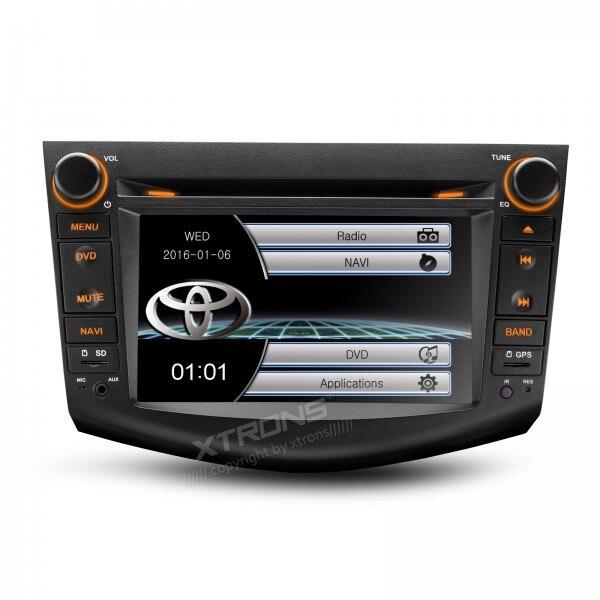 """Xtrons 7 """"Pantalla táctil DVD especial del coche para Toyota RAV4 2006-2012 con GPS/incorporado Bluetooth/FM/AM/RDS"""