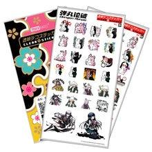 Anime Danganronpa Monokuma Luxus Aufkleber Für Handy Laptop Buch Kunststoff Transparent Aufkleber Sticker Spielzeug Geschenk