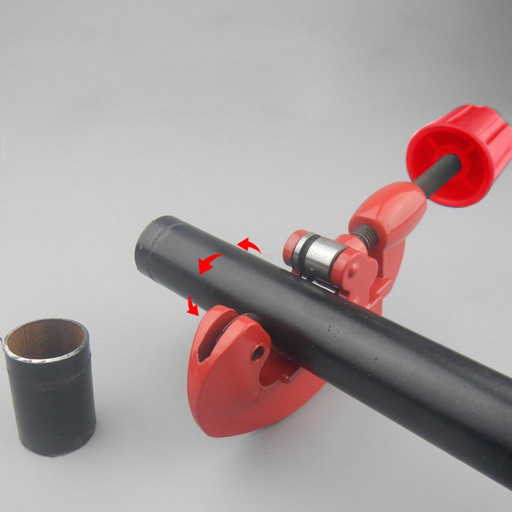 Cortadores de tubo de gran resistencia, cortes de PVC, plástico, latón, cobre, aluminio, fontanería, accesorio para el hogar
