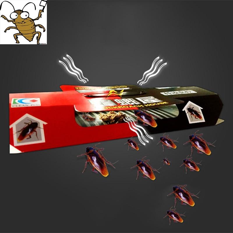10ks odpuzovač past na šváby zabíjení návnady silné lepkavé - Zahradní produkty