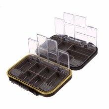 12 compartiments étanche matériel de pêche boîte de rangement écologique en plastique pêche appât appâts matériel de pêche Durable poche de poisson boîte sac