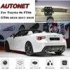 AUTONET-caméra de vue arrière   Pour Toyota 86 FT86 GT86 2016 2017 2018 caméra de stationnement à Vision nocturne plaque d'immatriculation