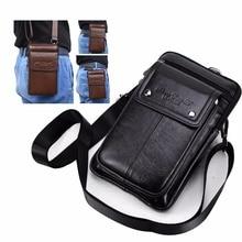 Cuir véritable porte ceinture Clip poche taille sac à main housse pour Aoson S7 + 7 pouces tablettes Android tablette PC téléphone sac sacs