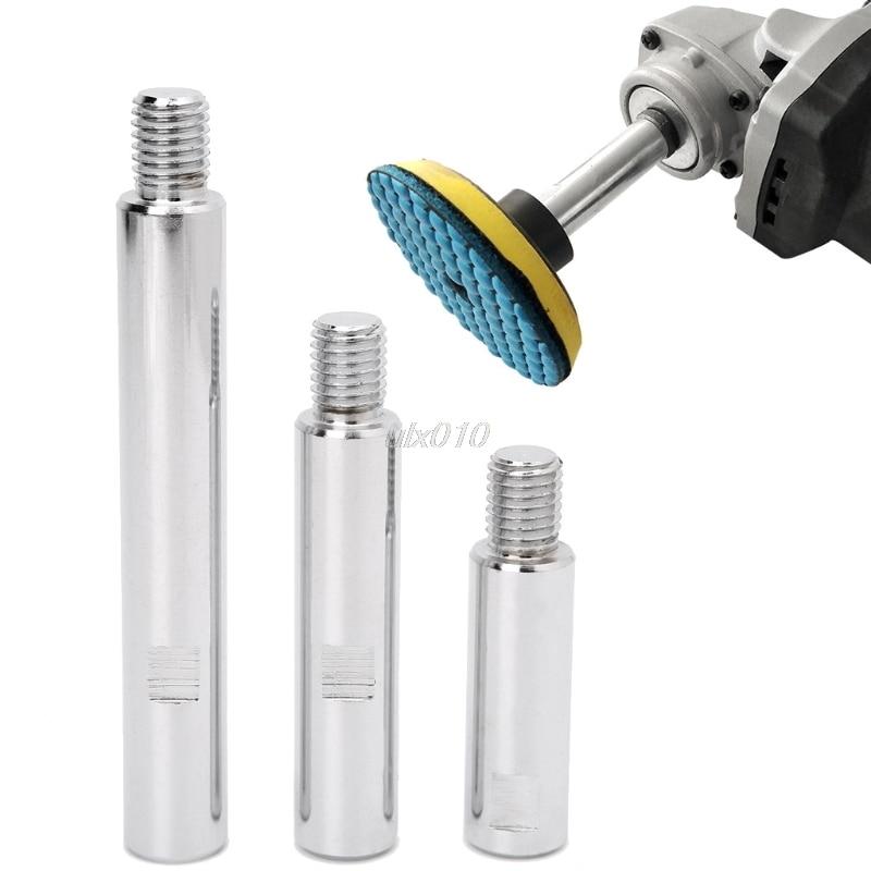 Нержавеющая сталь M14 роторная полировальная машина удлиняющий вал для автомобиля уход, полировка аксессуары новые аксессуары для электрои...