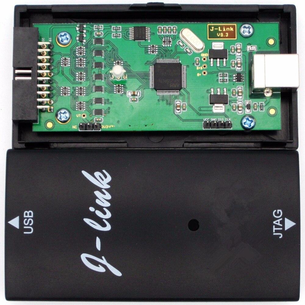 Для JLINK V9 J-LINK V9.3 обновление прошивки автоматически Эмулятор + пинборд для ARM7/9/11, Cortex-A5/7/8/9/12/15/17 симулятор