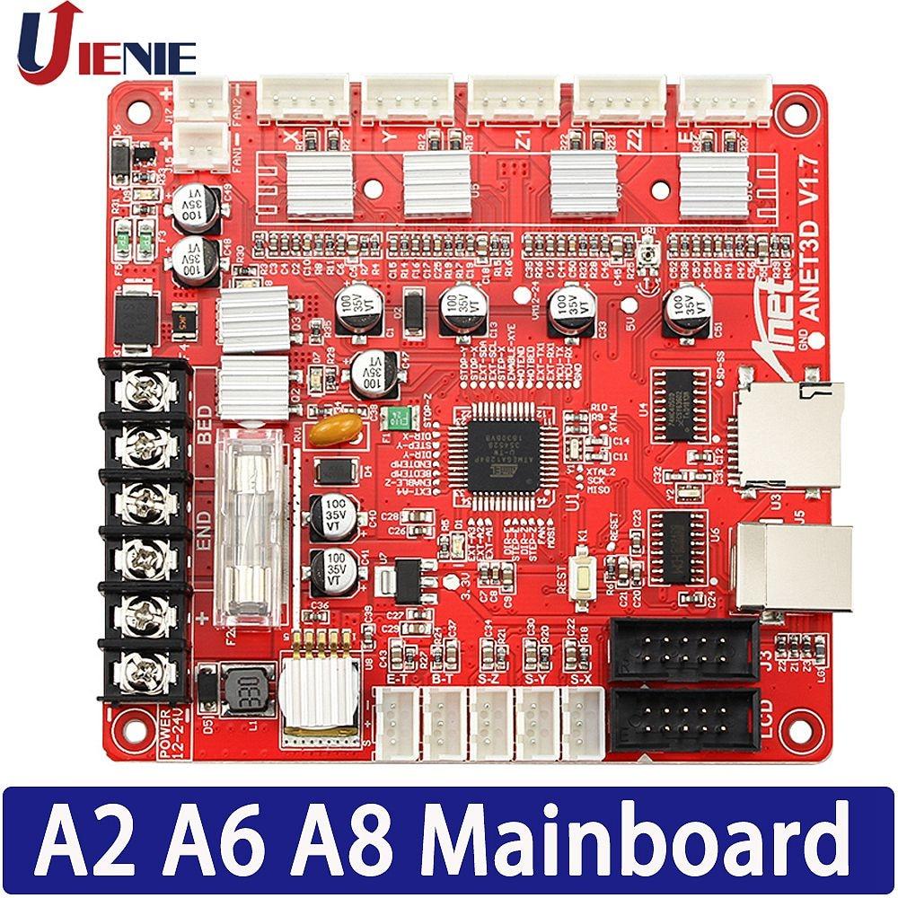 3D طابعة وحة التحكم اللوحة الأم ل Anet A8 A6 A2 3D طابعة Reprap i3 3D طابعة الأم مجلس 1 قطعة
