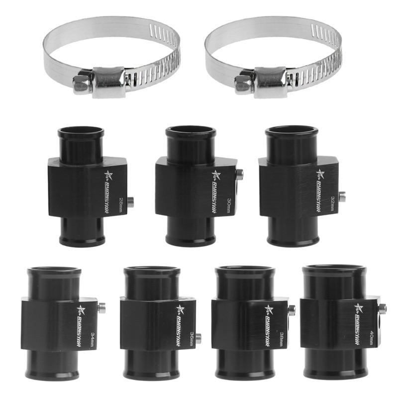 1Pc Water Temp Temperature Joint Pipe Sensor Gauge Radiator Hose Adapter Size 28/30/32/34/36/38/40mm