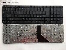 Teclado italiano para ordenador portátil HP Compaq 6820 6820s diseño de teclado negro IT
