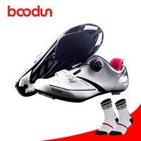 Boodun Cycling Shoes Road sapatilha ciclismo Breathable women men bike Athletic Racing Riding Zapators Ciclismo Cycle Sneaker