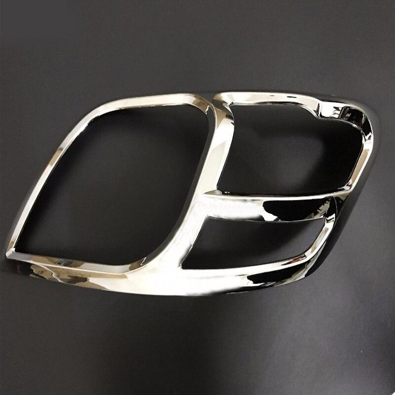 Apto para toyota hilux acessórios abs chrome design farol capa para toyota hilux vigo 2012 2013 2014 peças do carro