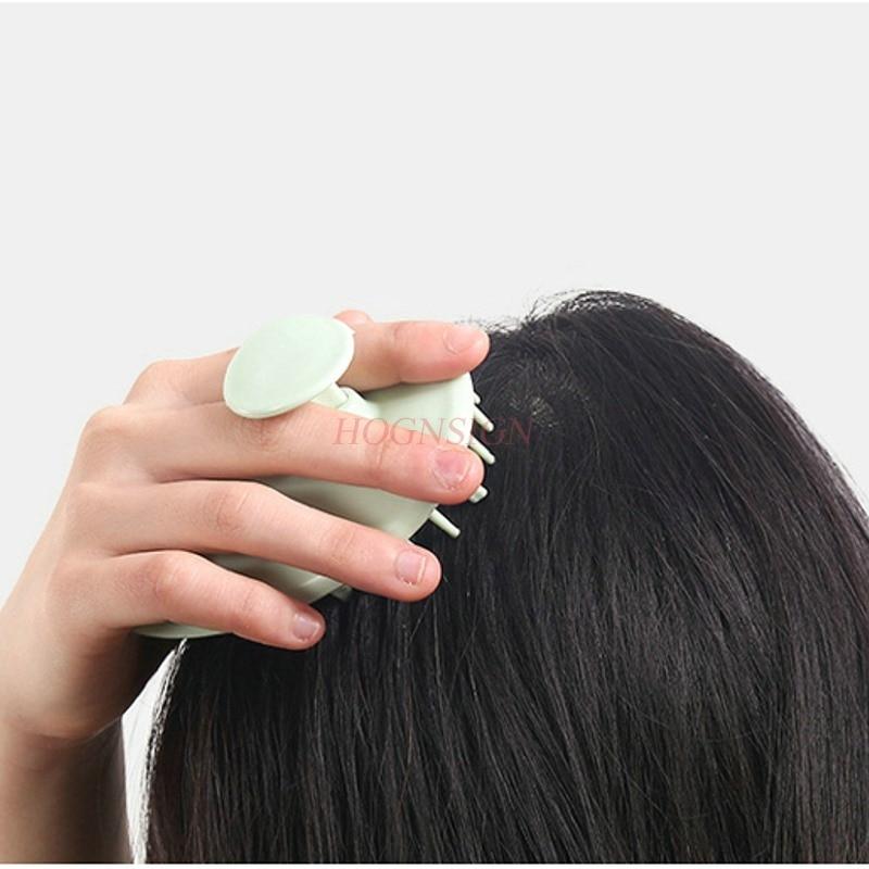 Щетка для шампуня массажер инструмент дома взрослых инструменты волос массажная