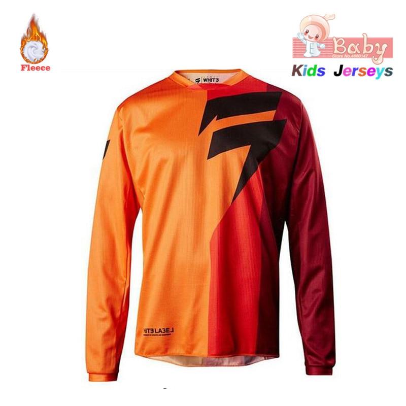 2021 niños moto rcycle jersey maillot ciclismo de manga larga moto Cruz...