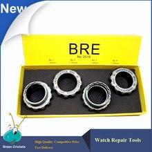 Livraison gratuite 34mm/35mm/36mm/38mm 4 pièces/ensemble ouvre-montre en acier, horloger montre arrière ouvreur de boîtier outils Kit