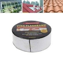 Aluminum Foil Butyl Rubber Tape Adhesive Sealing Best for RV Roof Marine Repair