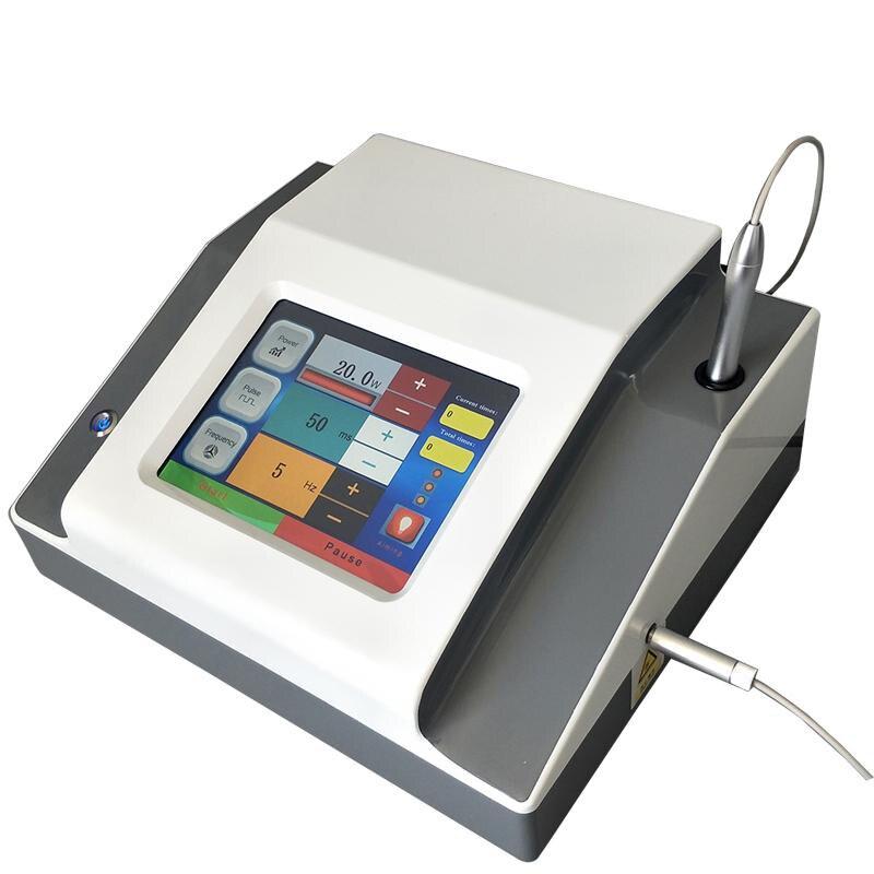 Equipo eficaz de eliminación de venas láser 980nm diodo máquina de eliminación vascular permanente para todas las pieles tyes