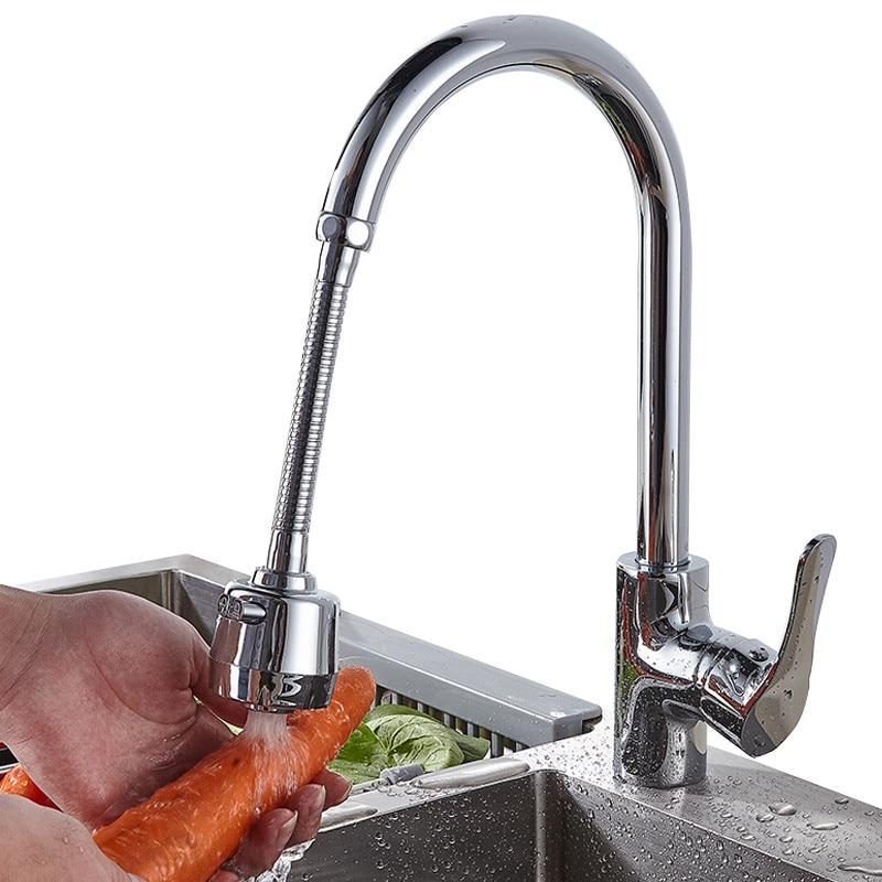 Nueva extensión de grifo de acero inoxidable, cabezal de ducha giratorio, alargador, filtro de agua para el hogar, cocina, baño, fregadero, accesorios