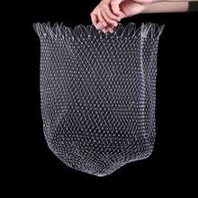 Nylon Net Small Hole Diameter Portable Fishing Net Mesh Hole Net Collapsible Hole Fishing Tools 30/40/50/60cm