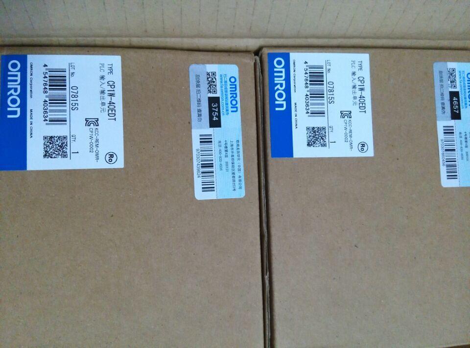 [ZOB] 100% العلامة التجارية الجديدة الأصلي أصيلة-PLC وحدة CP1W-40EDT