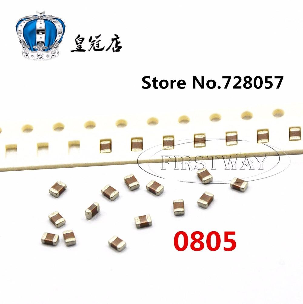 0805 562J 5.6NF 50V 5% 100 шт./лот Бесплатная доставка SMD керамические конденсаторы