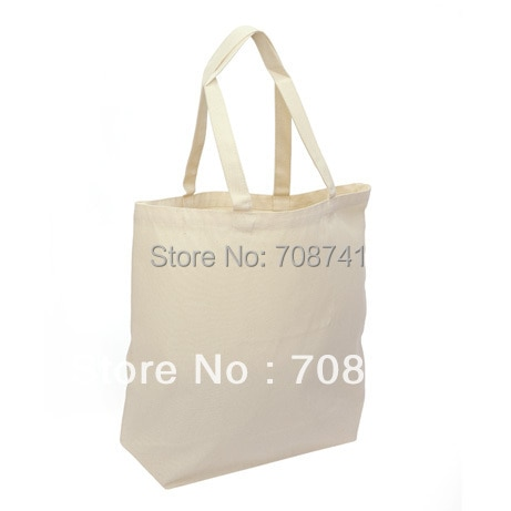 OIVEFEET TCS004,100pcs,27X28X8cm,Cotton Bags Wholesale, Cotton Tote Bags for Promotion,Custom Size Logo Print Accept