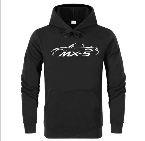 FRETE GRÁTIS MAZDA EUNOS MX5 ROA1STER MK3 INSPIRADO CARRO hoodies 100% ALGODÃO Hoodies, Camisolas