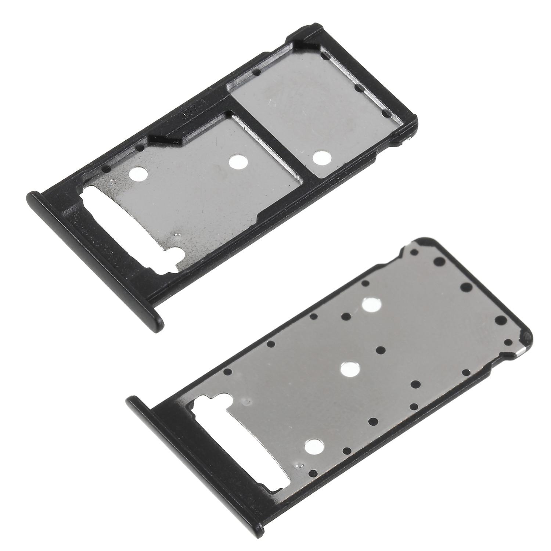 Dulcii OEM Dual SIM карты MicroSD лоток Слот держатель для huawei Y7 премьер/наслаждаться 7 Plus