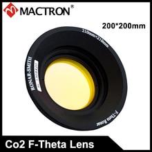 Singapour ronar-smith 200*200mm champ de balayage Co2 lentille Laser f-theta
