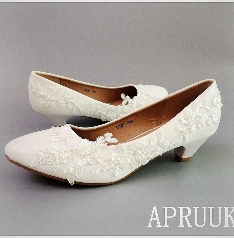 Zapatos de tacón de encaje de alta calidad para mujer, calzado de...