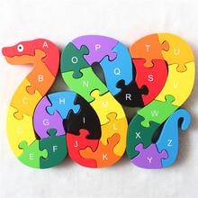 Деревянные ABC Алфавит цифры обучающие игрушки для детей 3D Пазлы Интеллектуальные Игрушки для мальчиков и девочек подарок на день рождения и Рождество