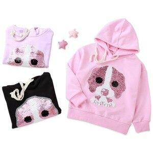 Baby Cartoon Pullover Hoodies Autumn Winter Kids Sweatshirt Tops Long Sleeve Tops Girls Sweatshirts Children Hoodies Clothes