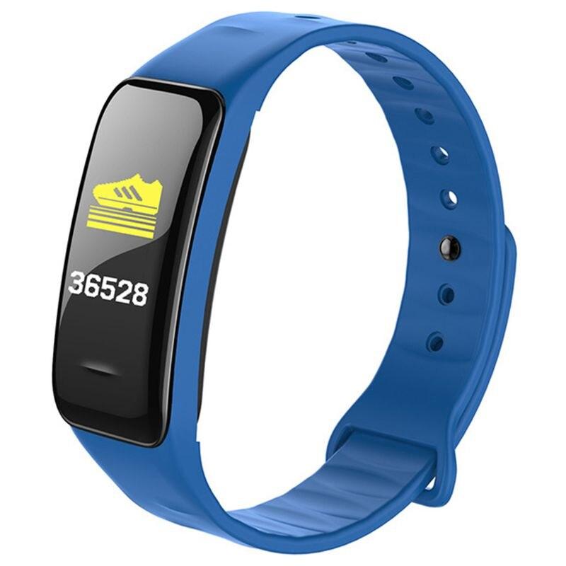 Reloj de pulsera inteligente para Fitness, reloj de pulsera inteligente con control de la presión sanguínea, contador de calorías y resistente al agua