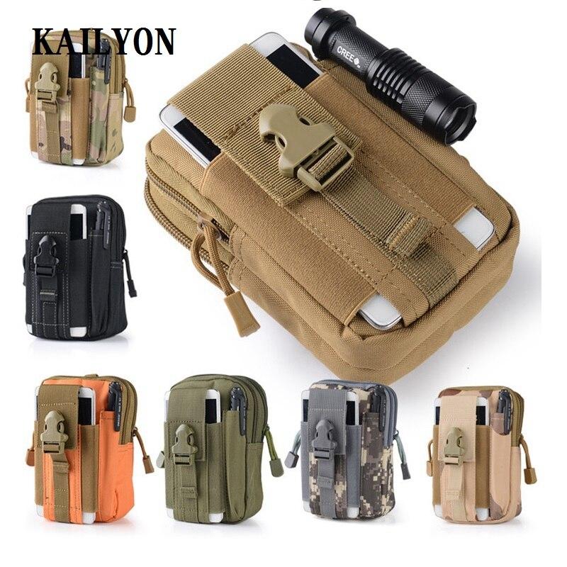 "5,2 ~ 5,7 ""Multi teléfono modelo Oukitel K10000 Pro/k6000 Plus/k10000 funda al aire libre táctica pistolera militar cinturón de teléfono de cadera"