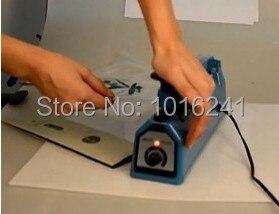 جديد اليد ختم آلة الاندفاع الحرارة دليل آلة ختم البلاستيك بولي حقيبة السداده ختم طول 30 سنتيمتر 11.8 بوصة