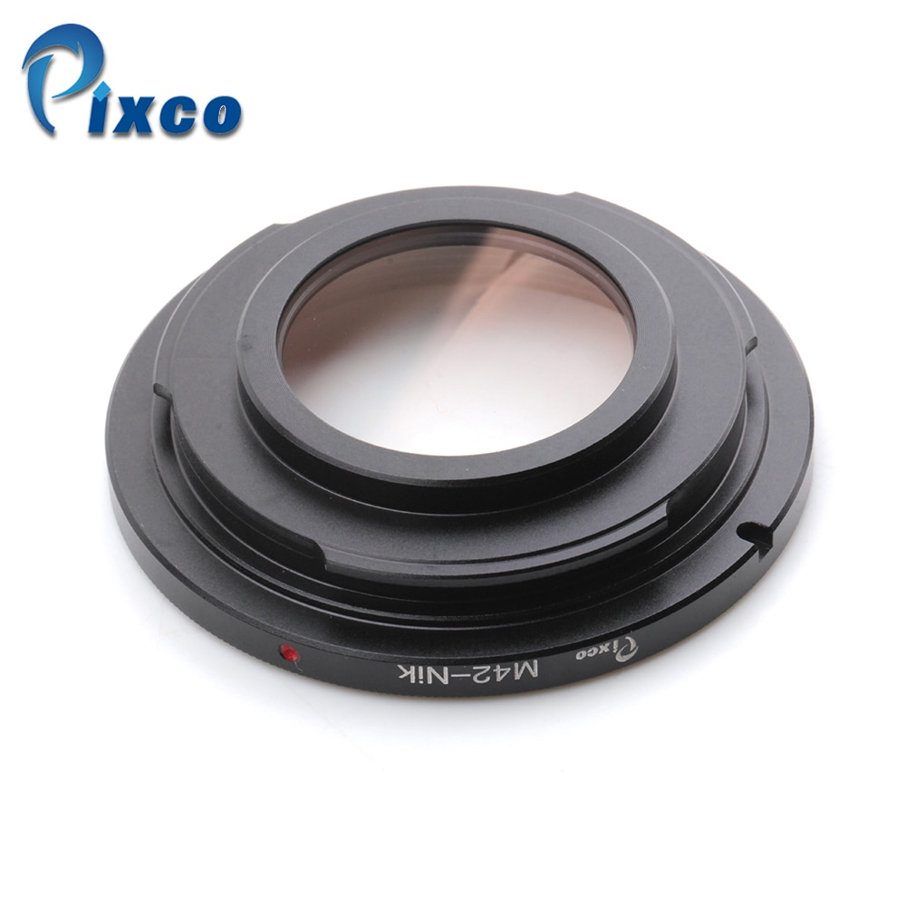 Адаптер объектива Pixco для M42-Nikon Focus Infinity, подходит для объектива M42, стекло для камеры Nikon