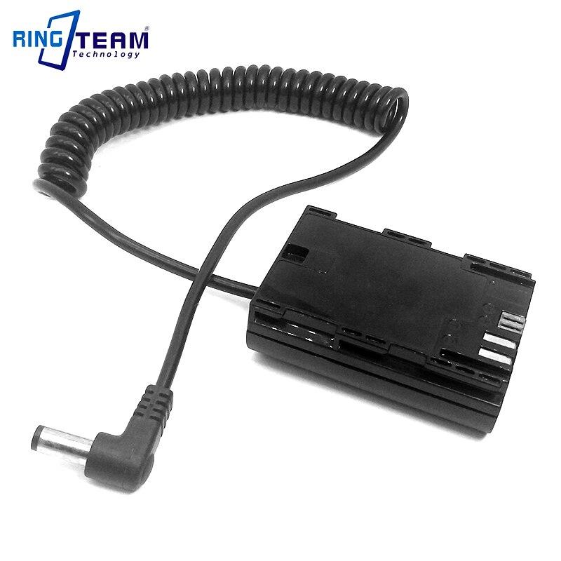 LPE6 LP-E6 de batería Digital caso DR-E6 acoplador de CC conector de...