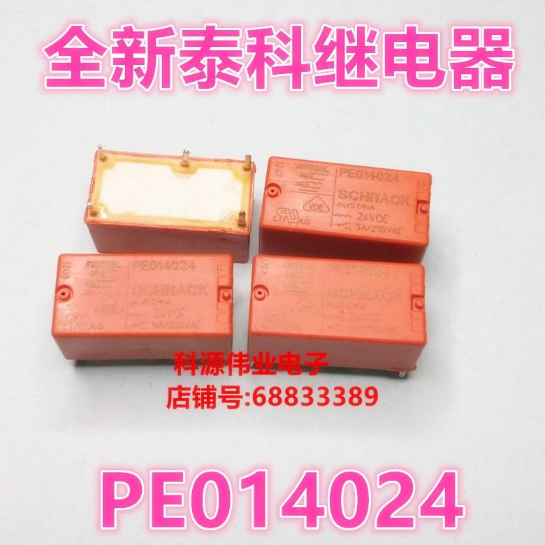 Relé PE014024 5PIN 5A 250VAC