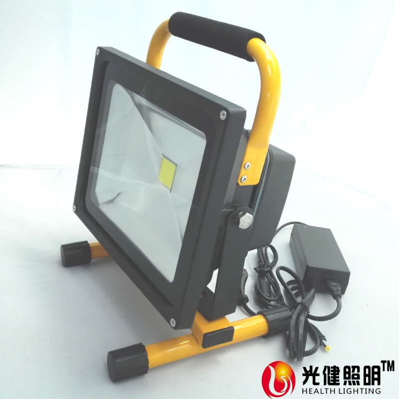 50W 4levels dimming rechargeable camping light  LED working lamp cordless outdoor LED flood light