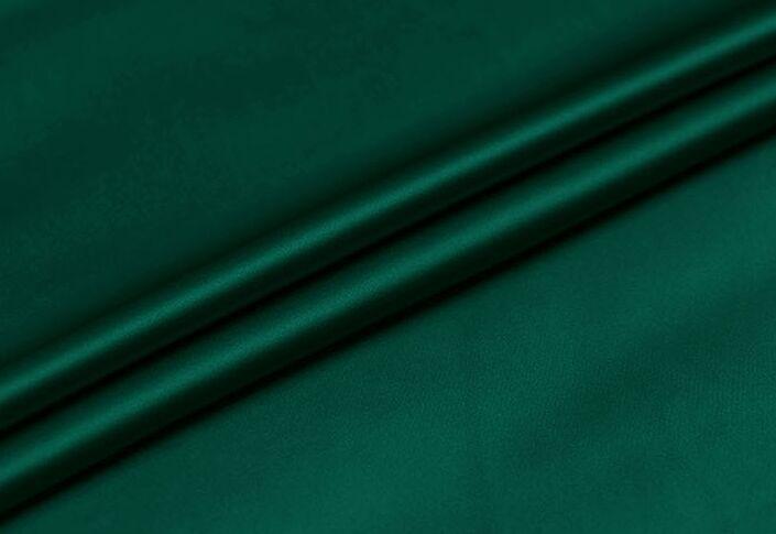 """Howmay 100% tela de seda satinada pura 16,5 m/m 114cm 45 """"verde oscuro 31 # color para bufanda vestido de mujer ropa de cama sábana funda de almohada"""