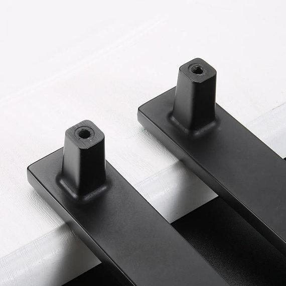3.75'' 5'' 6.3'' 7.55'' Rhinestone Black Drawer Pull Handle Knob Cabinet Pulls Handles Kitchen Door Handles Knob Dresser Knob